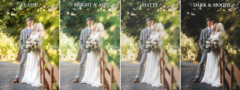 Wedding Photography Editing Styles and Trends