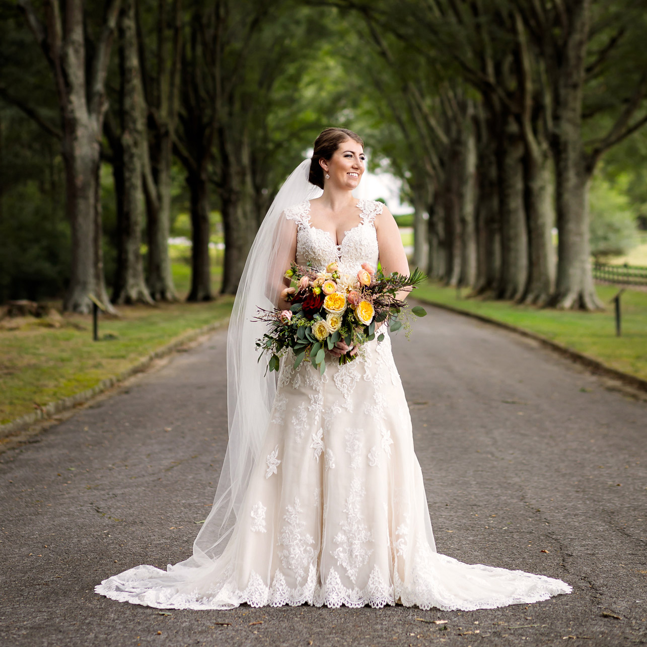 Bridal Portrat at Berry College