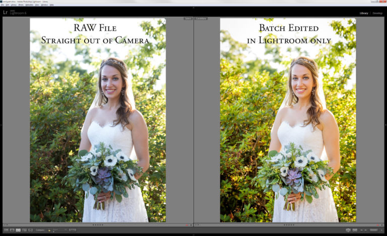 Differences between Unedited, Edited and Retouched Photos